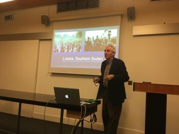 Professor John Mack (UEA)
